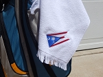 Ohio/South Carolina Flag Golf Towel